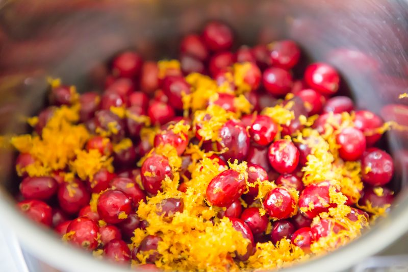 Spiced Cranberry Relish Recipe