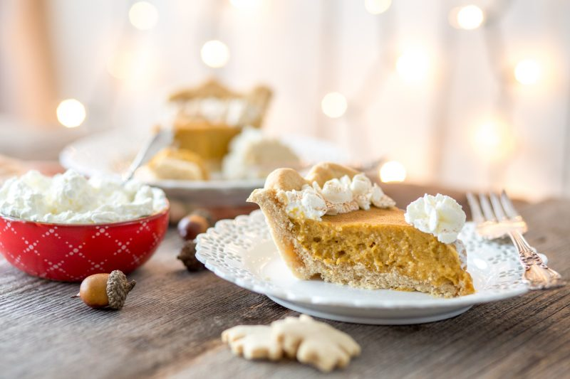 Paleo Pumpkin Pie - Primal Palate Chiffon Pumpkin Pie