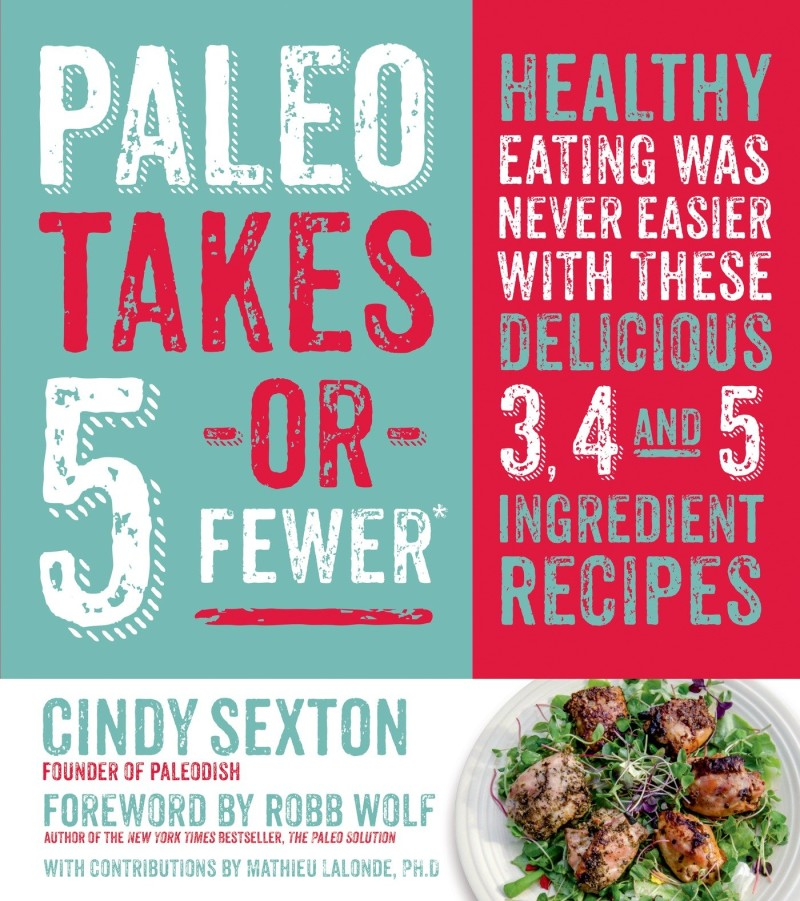 Paleo Takes 5 or Fewer