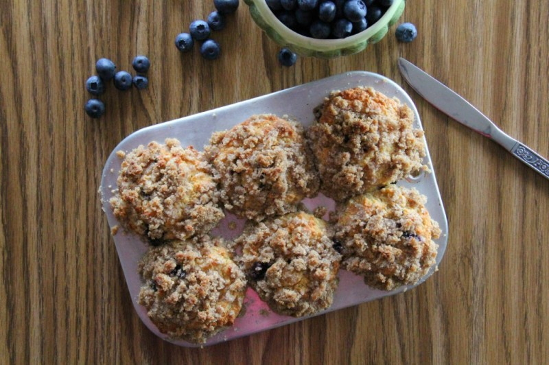 Grain-Free and Gluten-free Blueberry Muffins