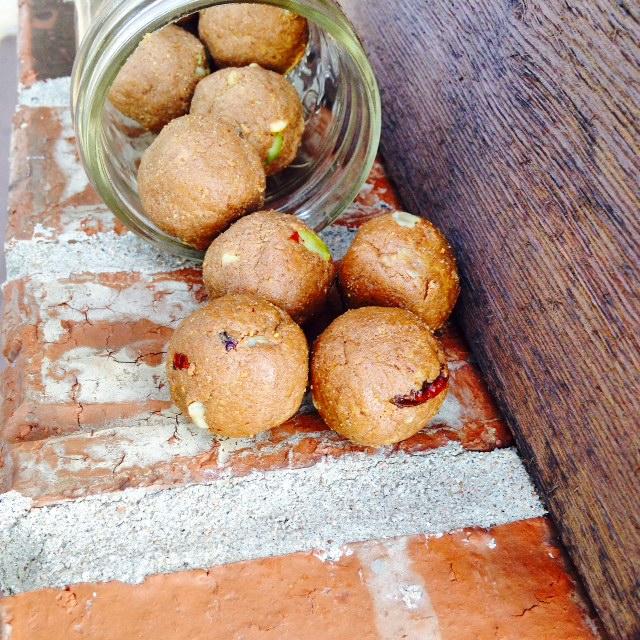 Cherry Cocoa Pistachio Bites Recipe