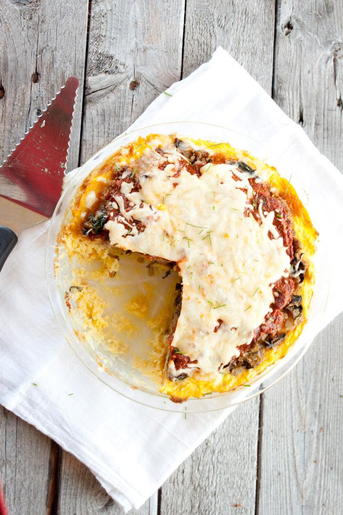 Grain Free Spaghetti Pie Recipe