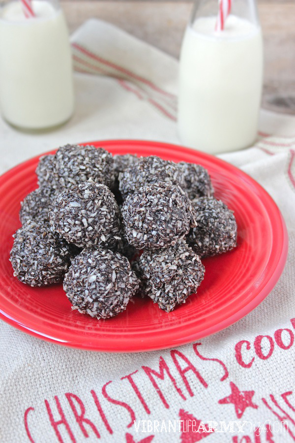 Carob Peppermint Macaroons