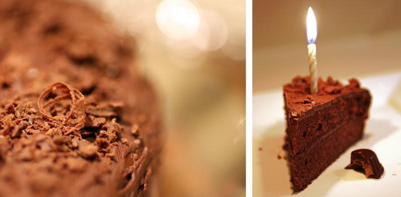 Double Chocolate Paleo Cake