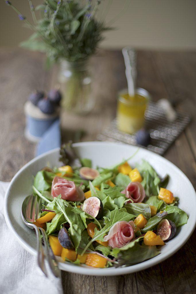 Fresh Fig & Roasted Butternut Squash Salad Recipe