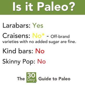 Is it paleo snacks