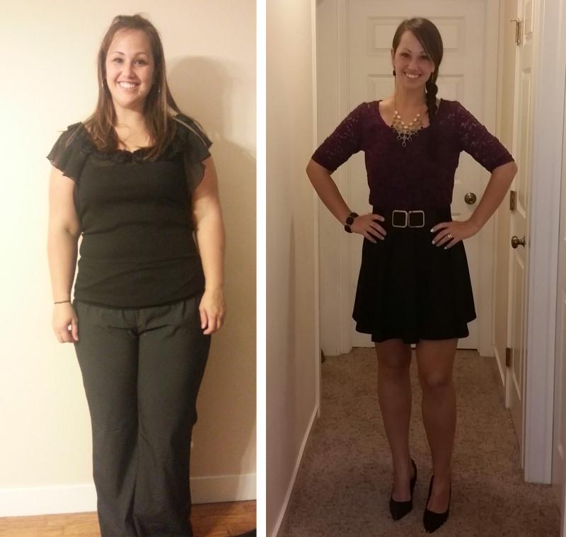 Jennifer before and after paleo