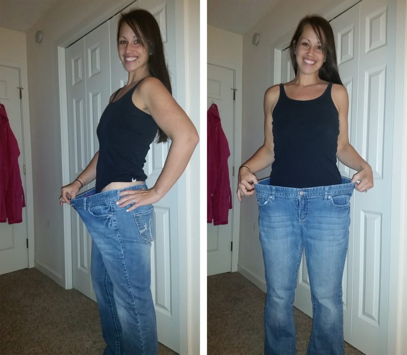 23 paleo success stories that will blow your mind primal palate jennifer in her before jeans malvernweather Gallery