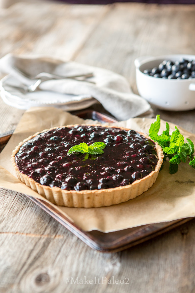Make It Paleo 2 - Blueberry Tart