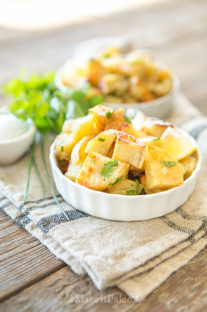 Make It Paleo 2 - Roasted Sweet Potatoes with Citrus Dressing