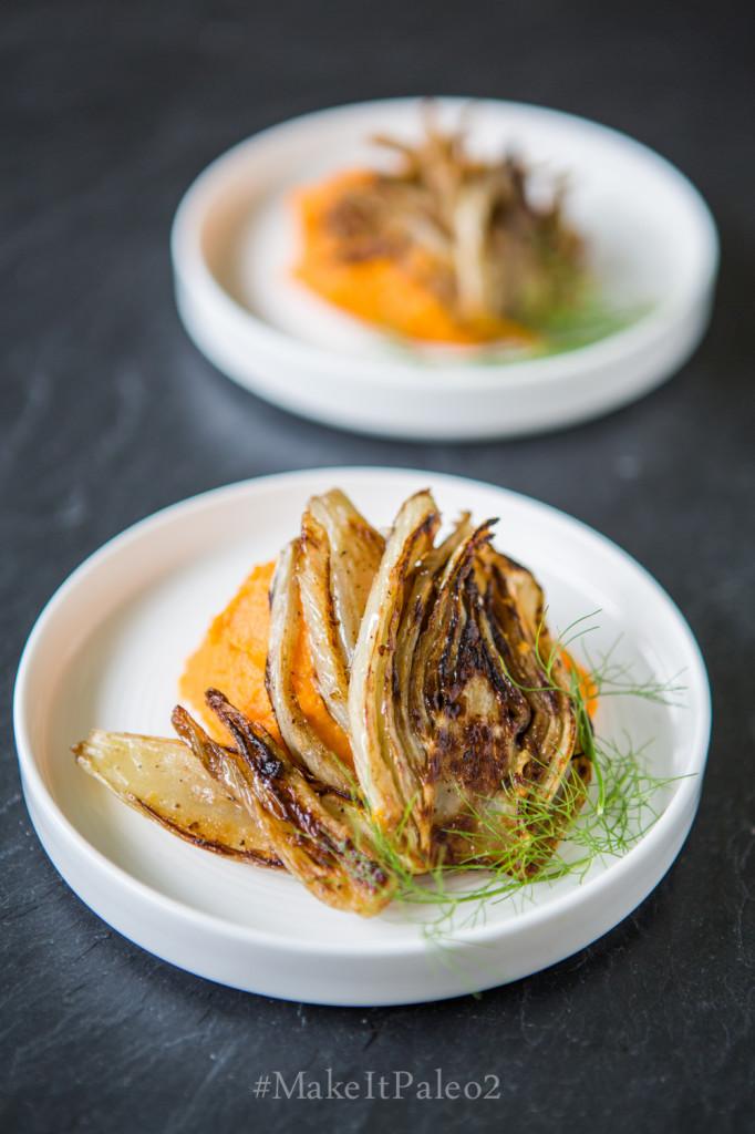 Make It Paleo 2 - Caramelized Fennel with Sweet Potato Puree