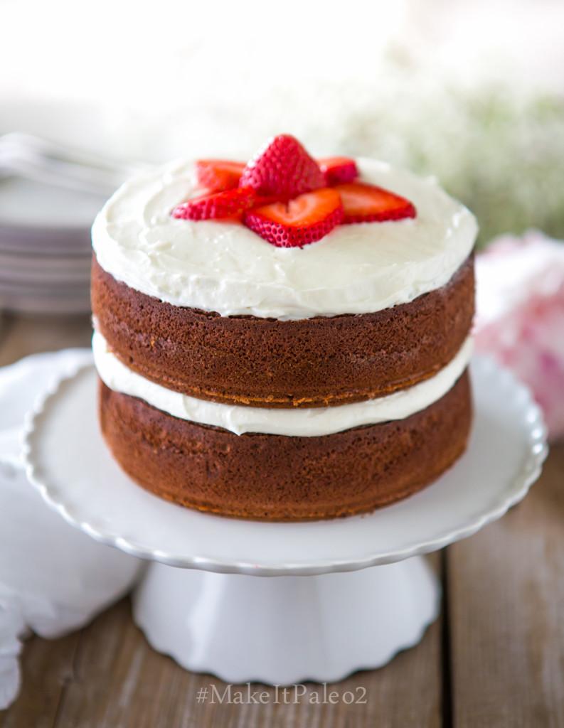 Make It Paleo 2 - Petite Chocolate Cake