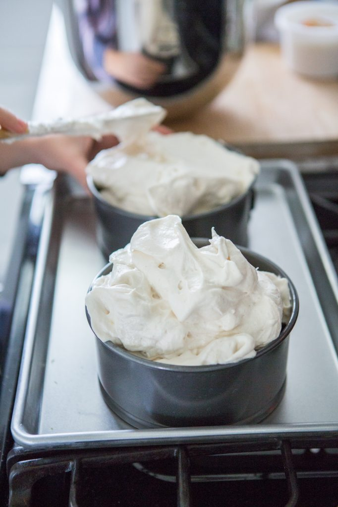 Whipped Batter for Angel Food Cake