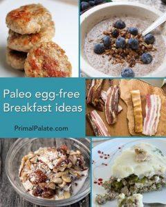 egg free breakfasts