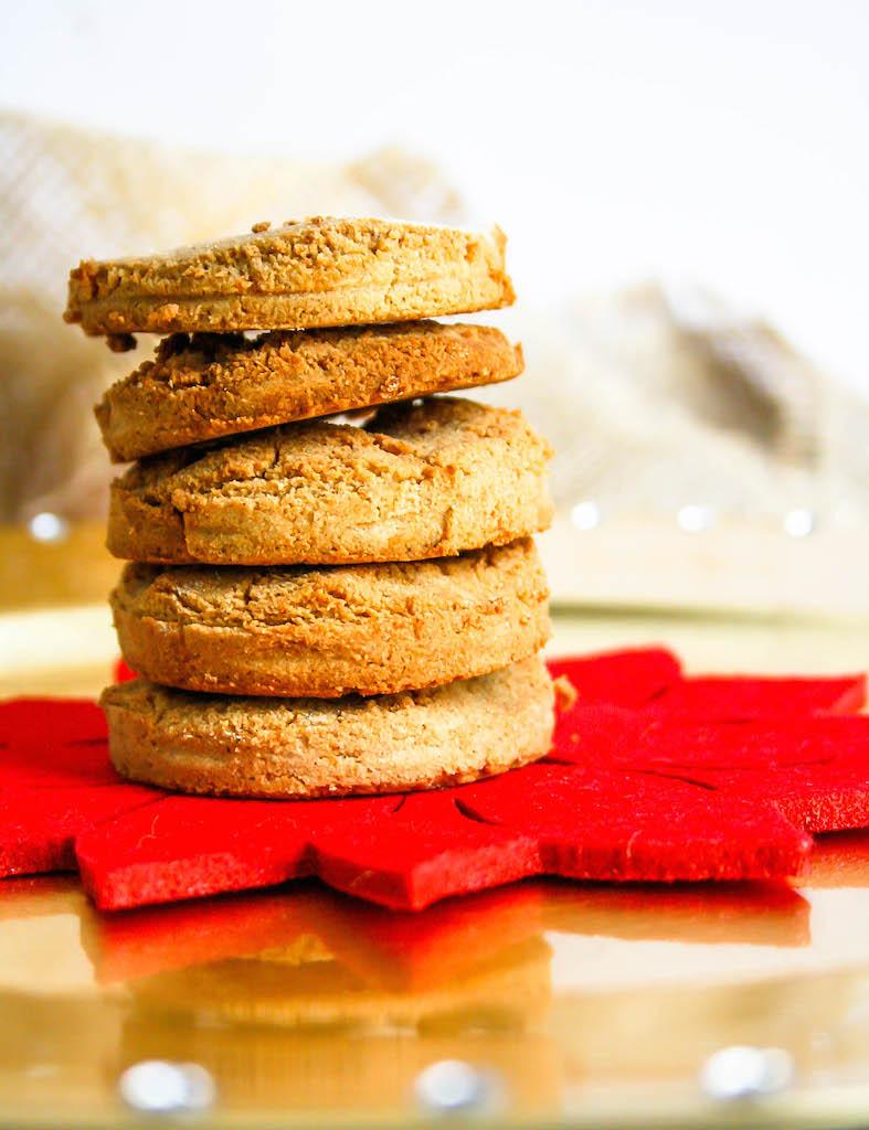 orange maple ginger cookies