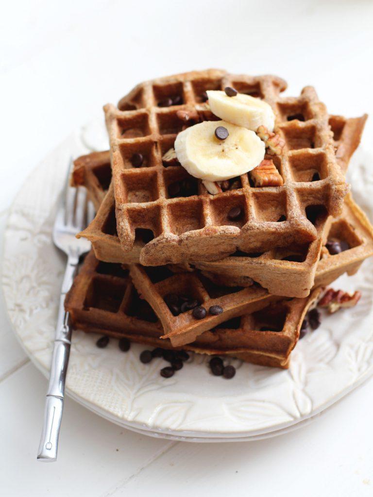 Gluten Free Banana Waffles Recipe