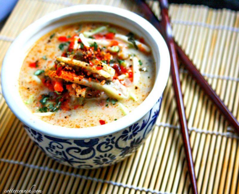 Thai Coconut Cabbage Soup Recipe