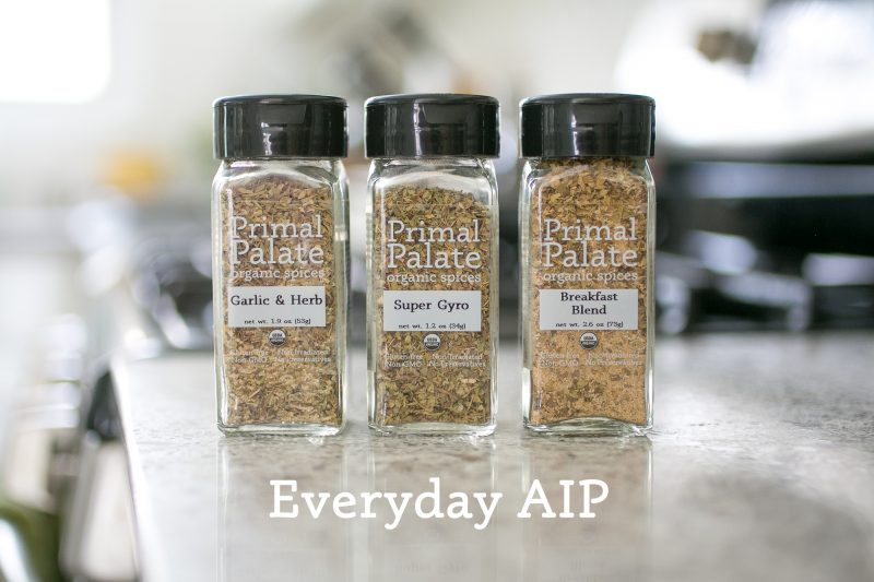 Everyday AIP pack kitchen