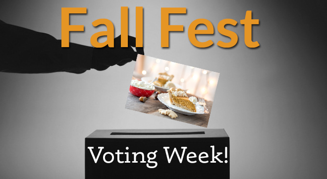 FALL FEST VOTING