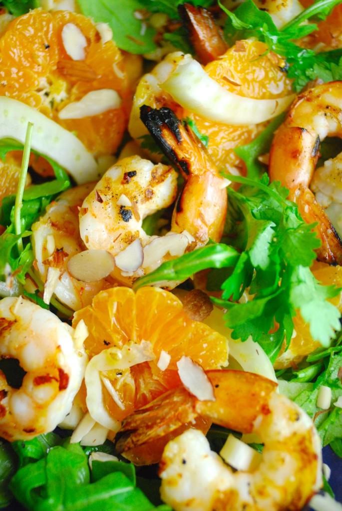 Grilled Shrimp, Citrus and Fennel Salad - Primal Palate   Paleo ...