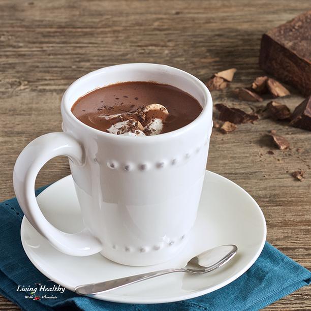 Healthy Homemade Hot Chocolate (Paleo, dairy-free) Recipe