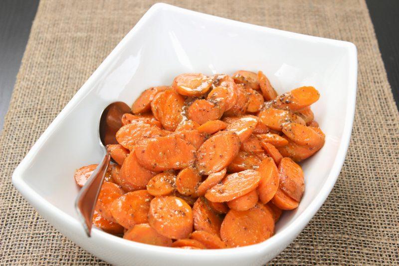 Honey Mustard Glazed Carrots Recipe
