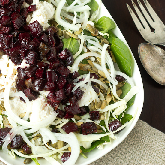 Roasted Beet & Pepita Winter Salad Recipe
