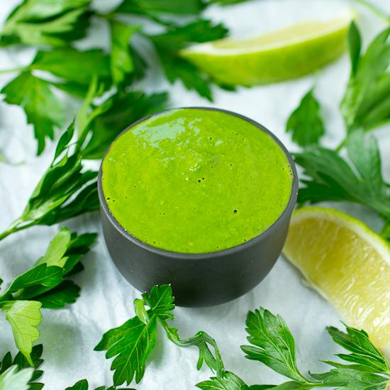 Superfood Chimichurri Sauce Recipe