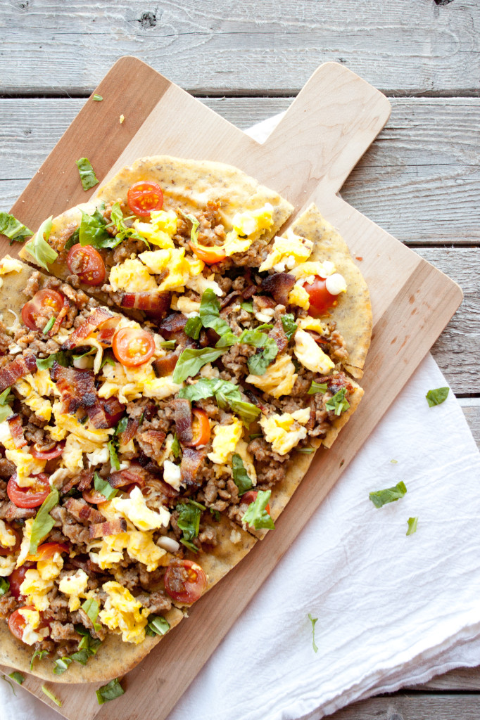Loaded Breakfast Flatbread