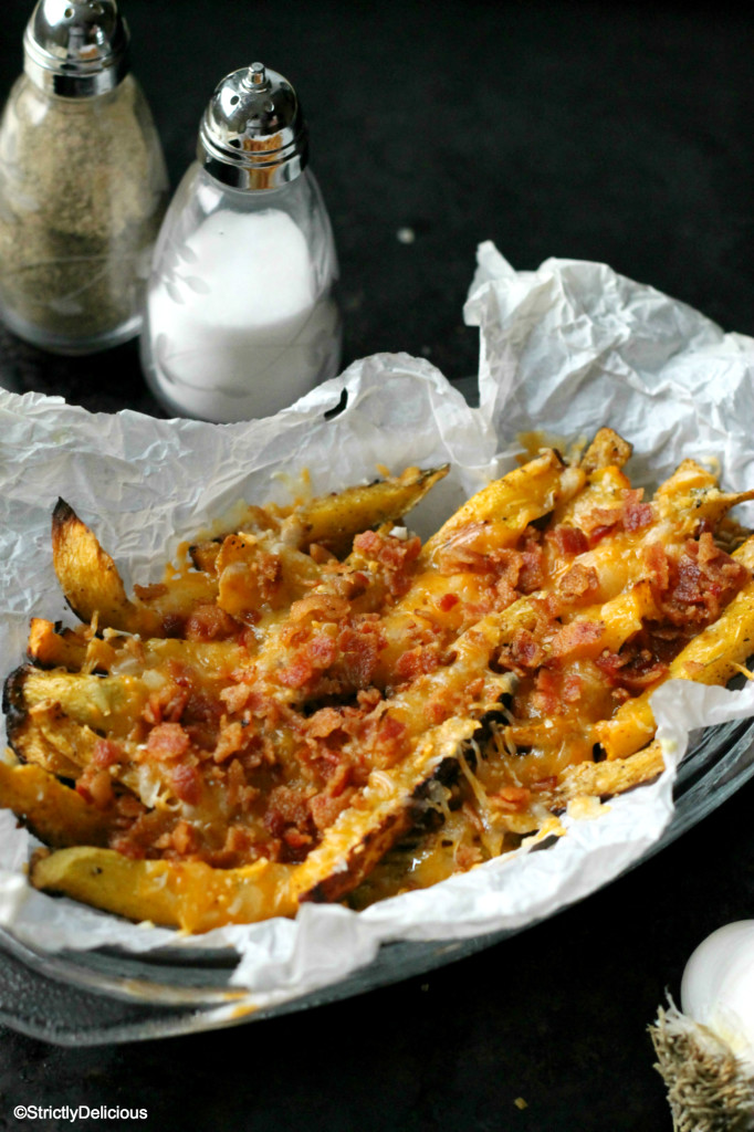Loaded Rutabega Fries