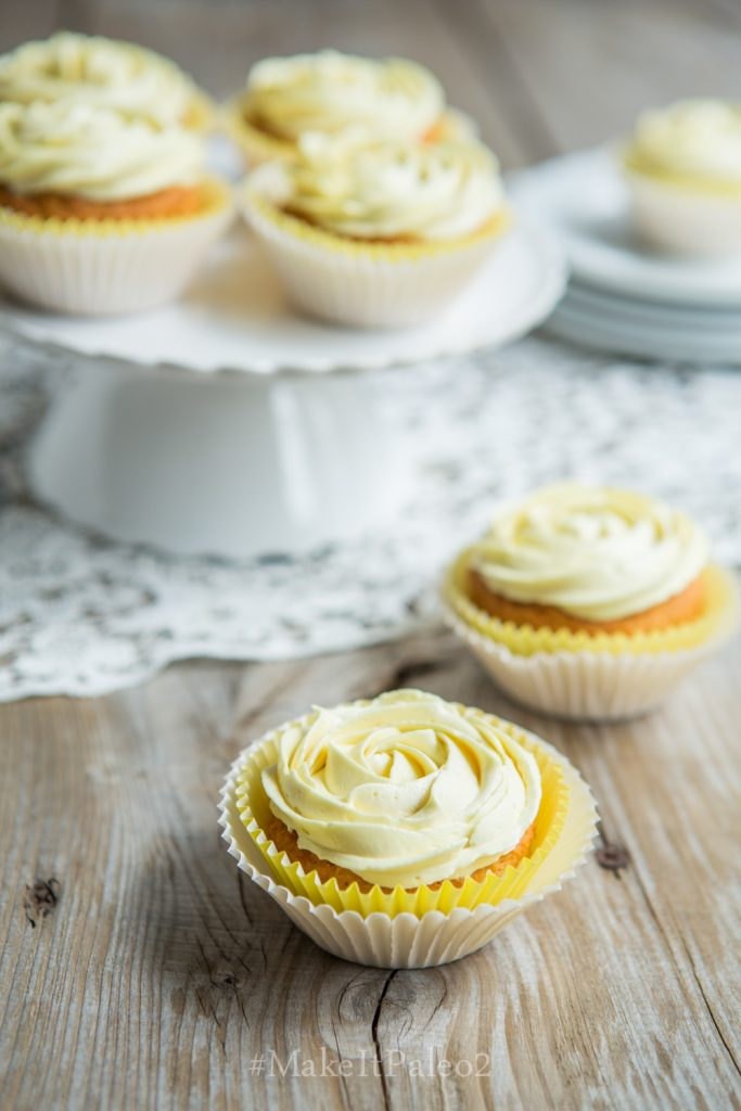 Luscious Lemon Cupcakes from Make It Paleo 2 Recipe
