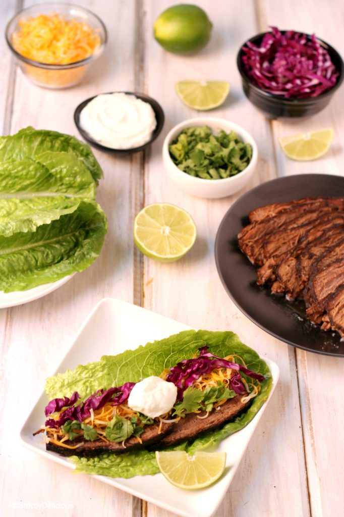 Paleo Balsamic Brisket Tacos