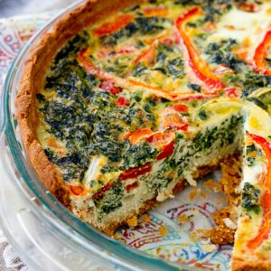 Veggie Packed Quiche