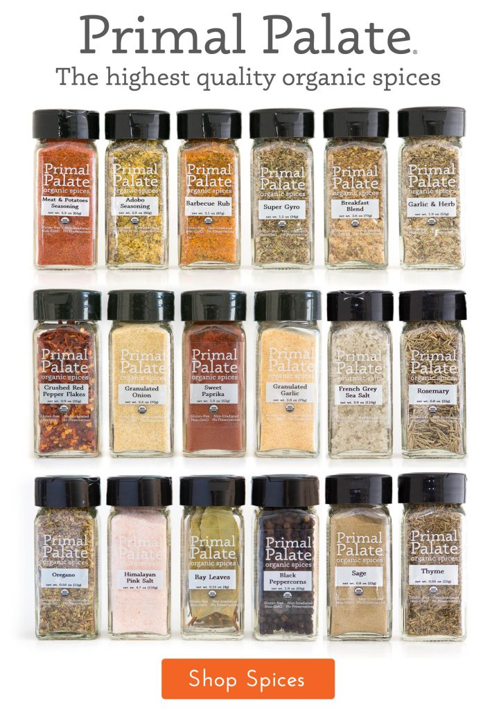 Primal Palate Organic Spices - IG Storefront