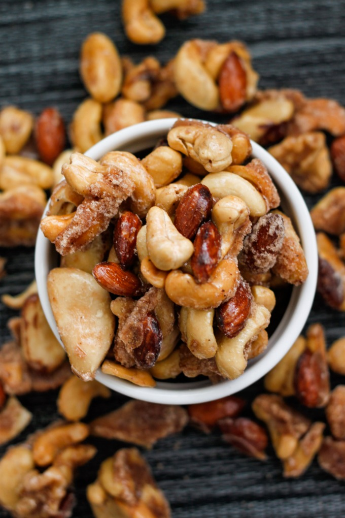 Sugar Free Caramelized Nuts
