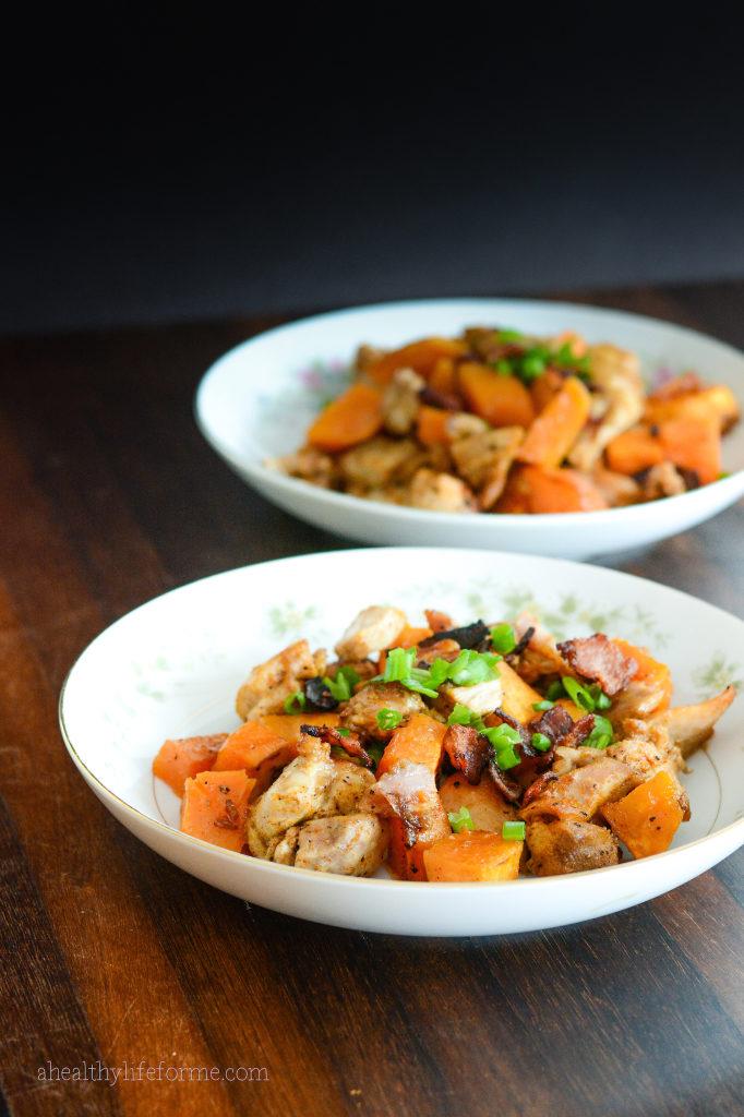 Sweet Potato Spicy Chicken Recipe