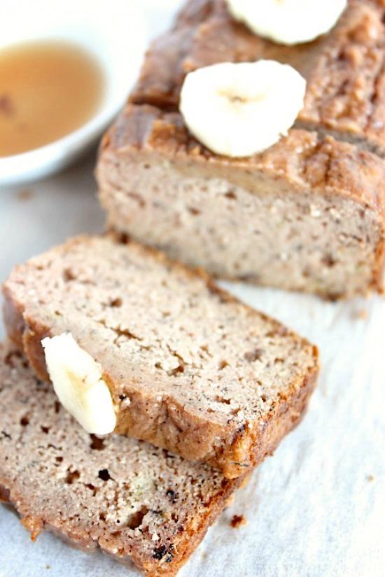 Maple Cinnamon Banana Bread Recipe