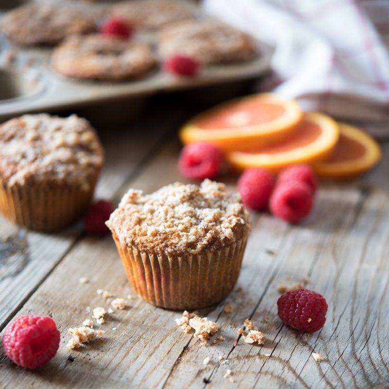 Orange Raspberry Muffins
