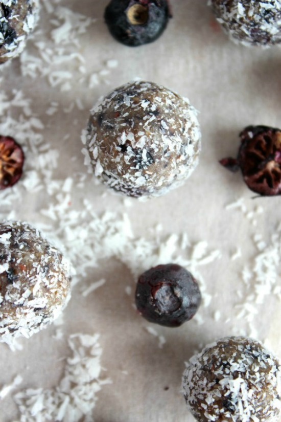 Blueberry Coconut Crunch Bliss Bites Recipe