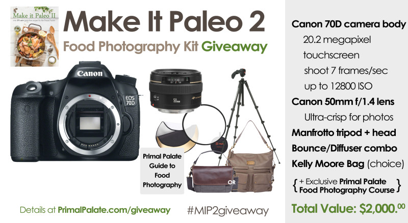 Canon Camera Giveaway - Make It Paleo 2