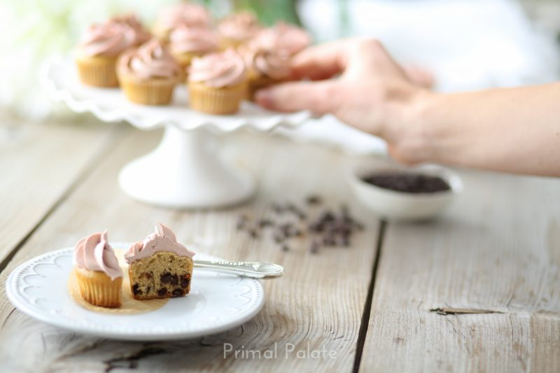 Chocolate Chip Mini Cupcakes Recipe
