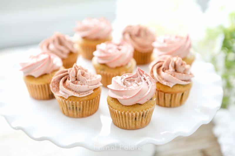 Chocolate Chip Mini Cupcakes - Paleo-9