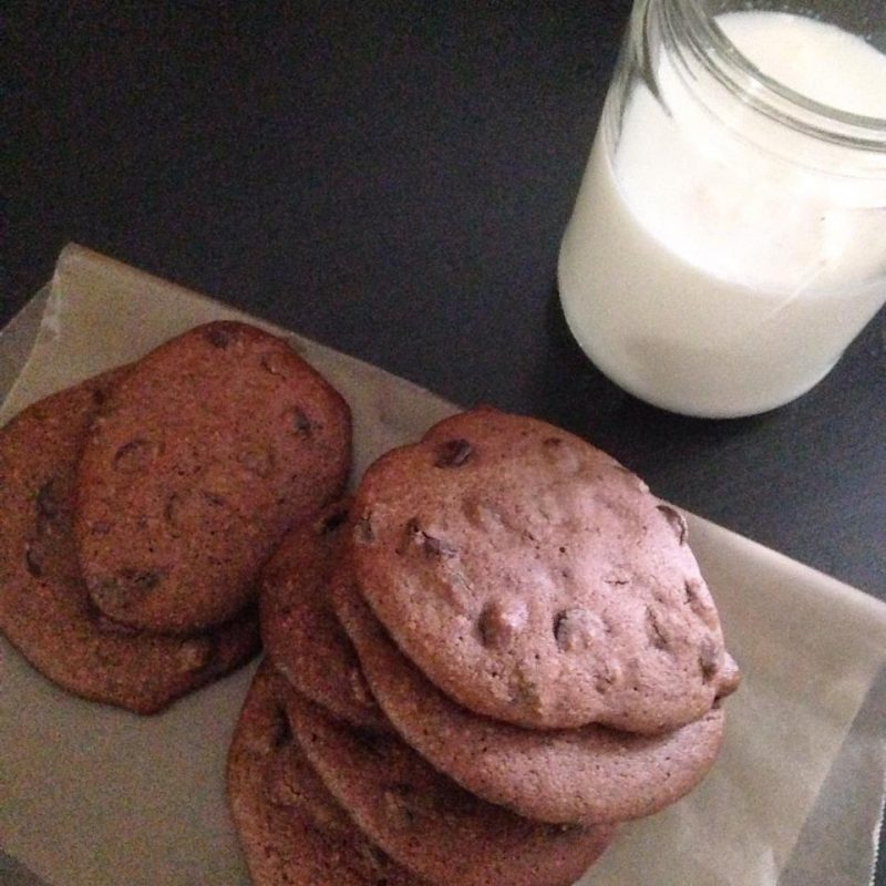 Double Chocolate Chip cookies from Make it Paleo II