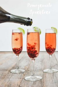 Pomegranate Sparklers - Fed and Fit