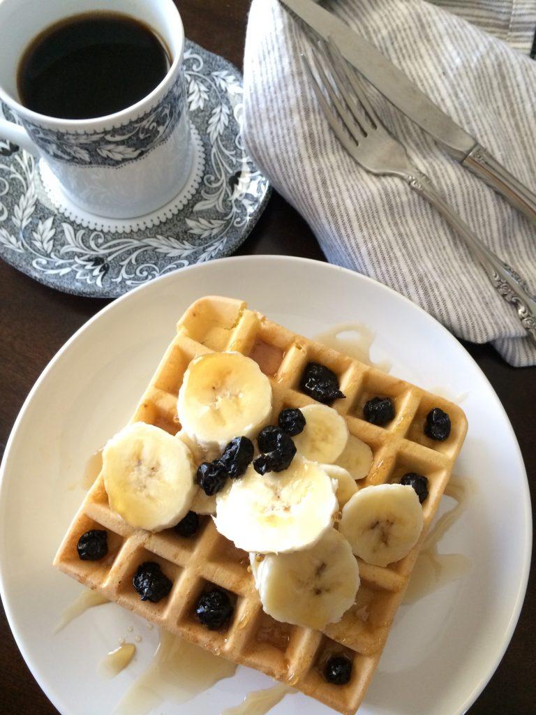Blueberry Waffles from Make it Paleo II