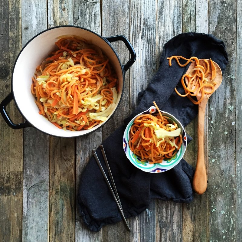 Vegetable Lo Mein from Make it Paleo II