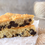 Chocolate Chip Snack Bars