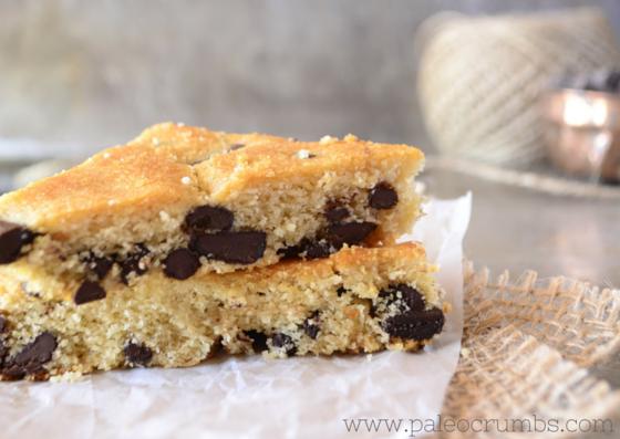 Chocolate Chip Snack Bars Recipe
