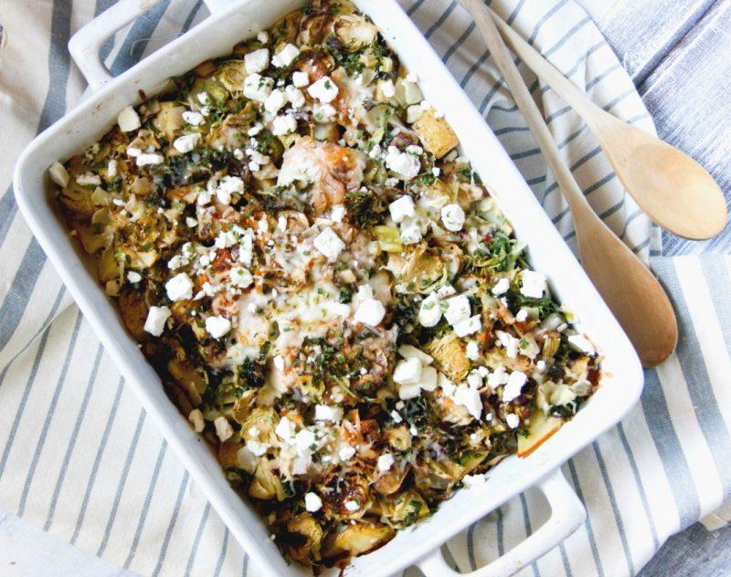 One Dish Fish and Veggie Bake Recipe
