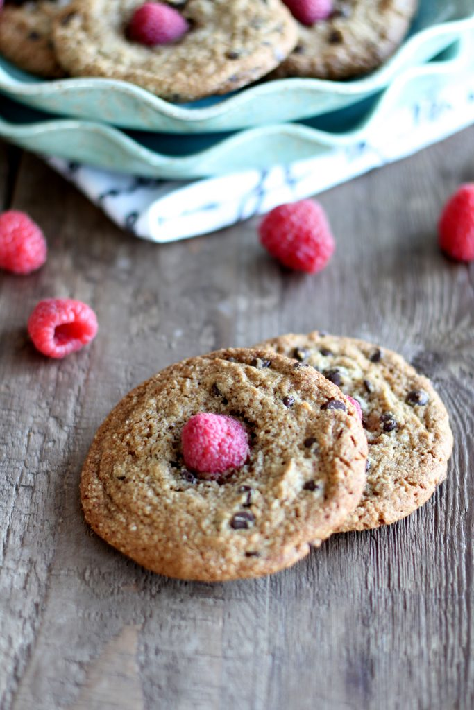 Chocolate Chip Raspberry Cookies - Primal Palate | Paleo Recipes